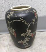 Hutschenreuther Hohenberg Porcelain Vase Germany Us Zone Signed 7 Tall