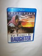 Not Without My Daughter Blu-ray 2018 Sally Field, Alfred Molina New/sealed