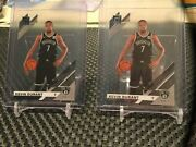 2020 Panini Donruss Clearly Kevin Durant 2 Cards Available - Sold Separately
