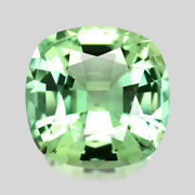 8.03cts Master Cushion Cut Natural Spring Mint Green Tourmaline Watch Video