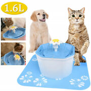 Pet Water Fountain Electric Water Dispenser For Cat Dog Automatic Three Modes Re