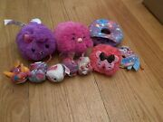 Lot Of 10 Assorted Pikmi Pop Plushies