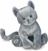 Ganz Webkinz Hm152 Charcoal Cat All Tags Brand New W Code V