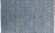 5and039 3 X 8and039 6 Hand-knotted Full Pile Overdyed Wool Rug - Q6417