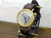 Wa No Koku Nana 5 Sen Coin And Large Dial Approx. 38mm Brass Pre-order Watches