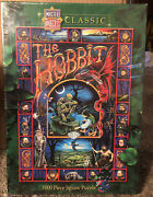 Masterpieces The Hobbit Middle Earth 1000 Piece Jigsaw Puzzle New Free Shipping