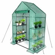 Greenhouse,indoor And Outdoor Greenhouse,window And Anchors 56×30×76