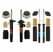 Sachs Front Strut Rear Shock And Mount And Bellow Kit For Bmw E46 3-series L6 Coupe