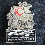 Phish Caspian 2014 Serlo Portsmouth Pin Collectible Limited Edition