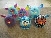 Six Furby Boom. 3 Rare Variations Included