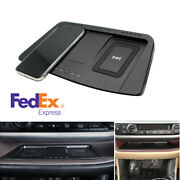 For 15-19 Toyota Highlander Console Qi Wireless Dual Phone Charger Plate Pad -us