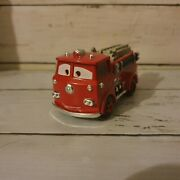Diecast Disney Pixar Cars Deluxe Red The Fire Engine Radiator Springs