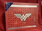 Wonder Woman Deluxe Stationary Gift Set Wax Stamp Letterhead Valentines Day New