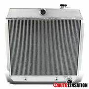 For Chevy Bel-air/nomad 1955-1957 3-core Full Aluminum Racing Cooling Radiator