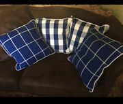 Farm Or French Country Cottage Pillow Polo 4 Pillows New