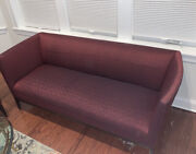 2 Beautiful Burgundy Sofas Used But In Amazing Condition