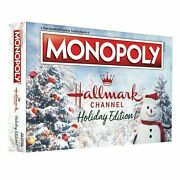 Monopoly Hallmark Channel Holiday Edition Brand New