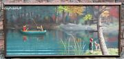 Vintage A Z Loy Oil On Canvas Impressionist Painting Newport Pa Camel Express
