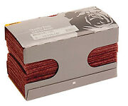 Mirka 18-118-447 25 Pieces 4 1/2-inch By 9-inch Very Fine Scuff Pads Red 360