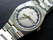 Rare Vintage 1972 Men Omega Automatic Day Date Cal 1020 Serviced Clean