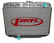 Pwr Fit Ford Mustang 68 69 70 Cleveland 55mm Radiator Pwr0643
