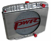 Pwr5064 - Fit Ford Mustang 68 69 70 Windsor 55mm Radiator