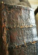 Extremely Rare Antique Book With Brass Clasps Russian Orthodox Diurnal- Psalter