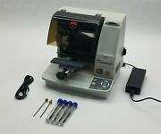 Gravograph M20 Rotary Jewel Steel Plate Engraver Mill Engraving Machine W/ Ps