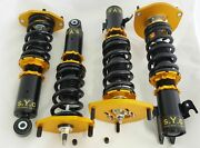 Syc Coilover Suspension Full Adjustable Damping Kit Suit Ford Ba-bf Falcon Xr6