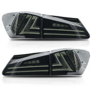 For 2006-2013 Is250/is350 Sedan 2008-2014 Is F Smoked Led Tail Rear Lights