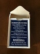 1917 T. Norpoth Baseball Parlor Card Game All 51 Card Set And Box Are Ex-mt