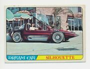 1964 Topps Hot Rods -36 The Silhouette Bill Cushenbery--made Into Hot Wheels