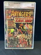 The Avengers 5 Signed By Jack Kirby Graded 3.5