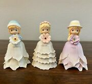 Precious Moments Monthly Flower Girl January February March Snowdrop Mini Bell