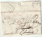 1831 Rare Dated Bristol Penny Post No 26 And039missent Toand039 Udc Lawton Thos Pickford