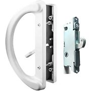 Patio Door Handle Set + Mortise Lock 45 Perfect Replacement For Sliding Glass -