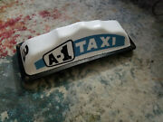 Vintage Taxi Sign. Roof Top Cab Sign, A-1 Taxi