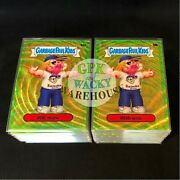2020 Garbage Pail Kids Chrome 3 Green Wave Refractor Complete 100 Card Set 299