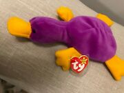 Ty Beanie Babies - Patti The Platypus - 1993 - Great Condition