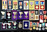 WW2 Former Japanese Army 31 Sets Medal Antique Item Military Showa Period O0133