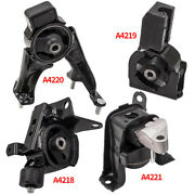 4pcs Engine Motor And Trans Mount For Toyota Corolla 1.8l 2003-08 Automatic Trans