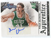 2013-14 Panini Crusade Rookie Card 20 Kelly Olynyk Autographed Card