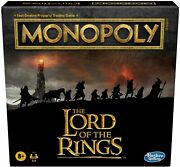 Hasbro Games Monopoly The Lord Of Rings Edition Board Game Jan.1,21 New
