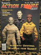 Action Figure Digest Lot 2 Universal Monsters -4 Issues Action Figures