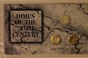 Morgan Mint Coin Set -dimes Of The 20th Century W/certificate