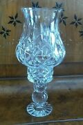 Block Crystal Two Piece Hurrican Candle Lamp 12h