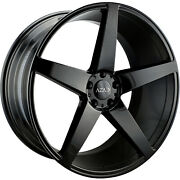 22x10.5 Black Wheel Element El005 5x4.5 40