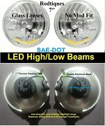 7 Headlights Led High / Low Beams + Amber Led Turn And Park Head Lamps - 5