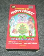 Gods Christmas In Happy Forest Love Is The Greatest Gift Vhs Rare 1990 Christian