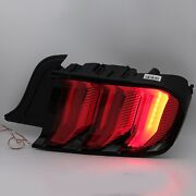 Replacement Red Led Taillight W/ Sequential For 15-20 Mustang Passenger Side